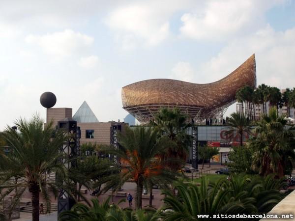 Pez de oro de Frank Gehry
