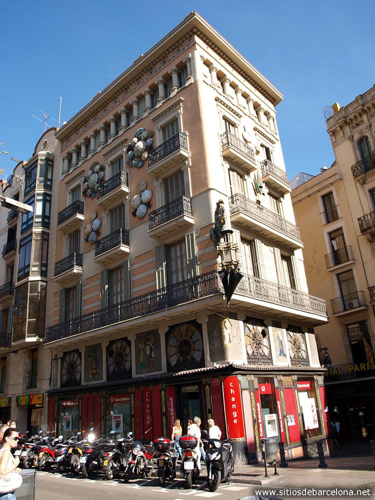 Casa bruno cuadros sitios de barcelona - La casa de los cuadros ...