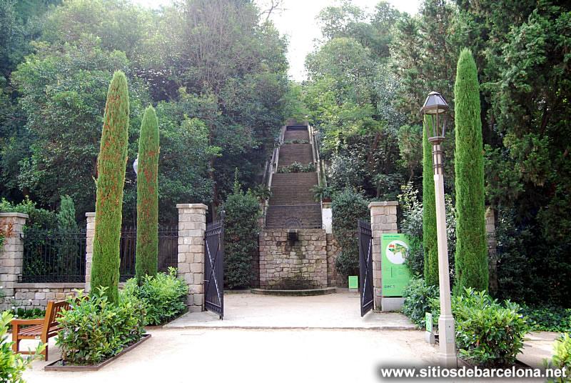 Escales del generalife sitios de barcelona - Jardines de barcelona ...