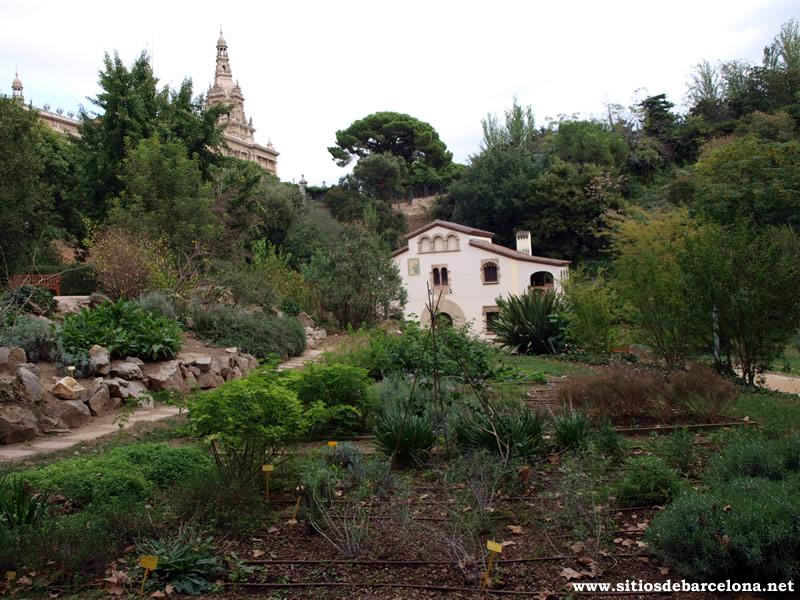 La masia del antiguo jard n bot nico sitios de barcelona for Jardin botanico montjuic