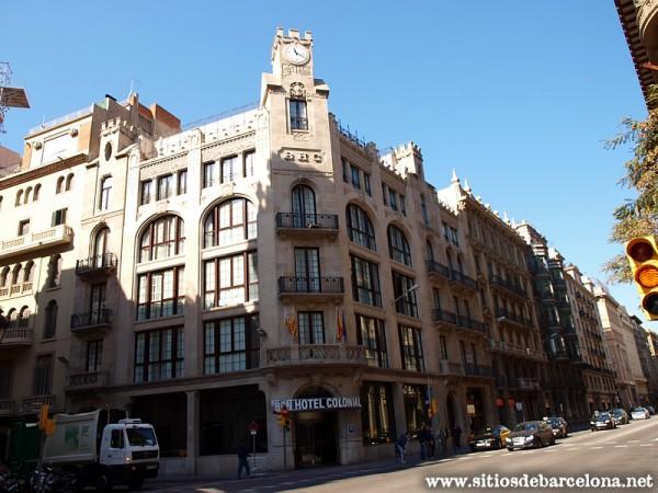 barcelona hotel colonial sitios de barcelona. Black Bedroom Furniture Sets. Home Design Ideas