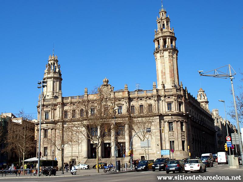 edificio correos de barcelona sitios de barcelona