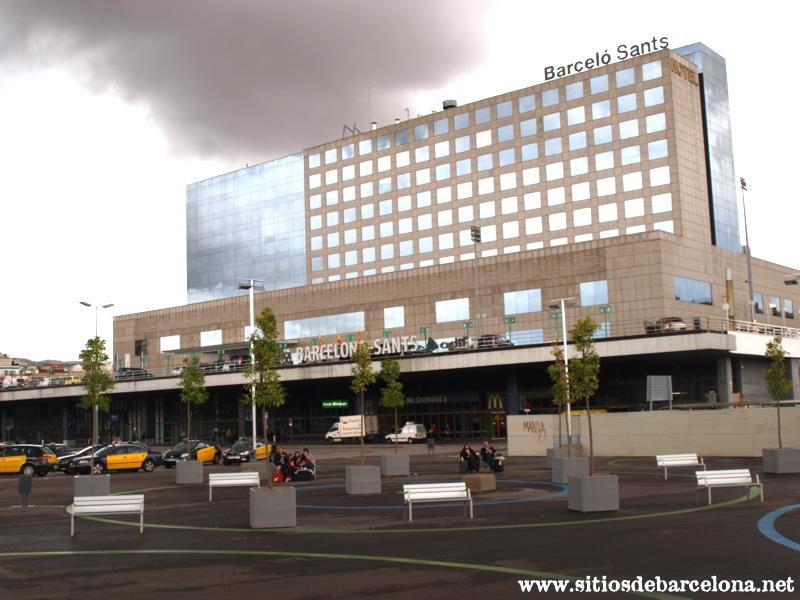 Hotel barcel sants sitios de barcelona for Ave hotel barcelona madrid