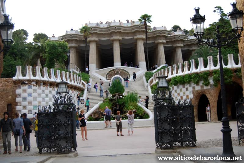 Park g ell p gina 2 sitios de barcelona for Parque japones precio de entrada