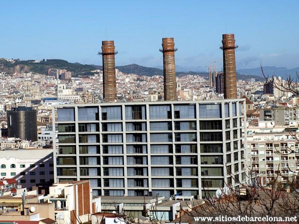 Las tres chimeneas fecsa sitios de barcelona - Chimeneas barcelona ...