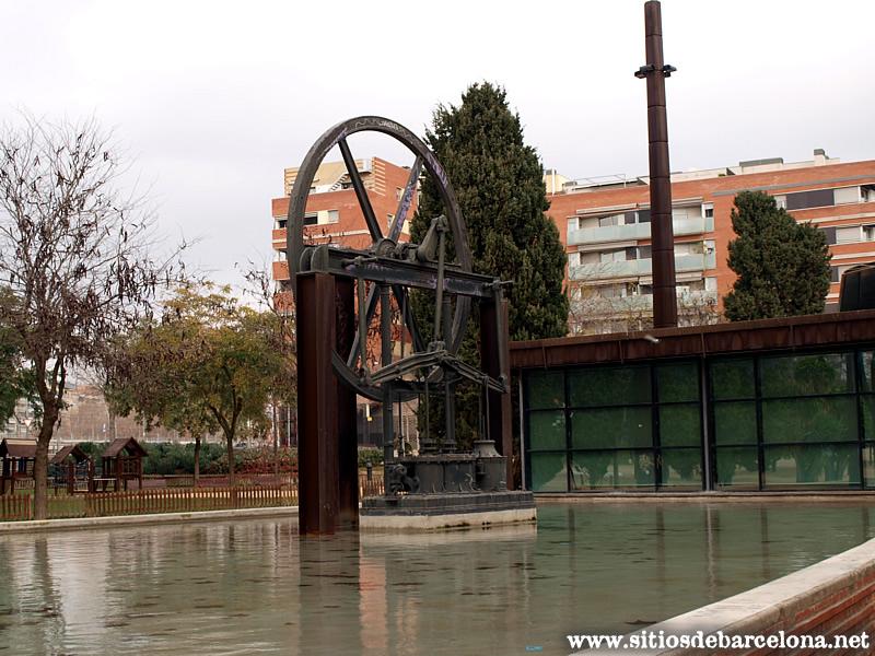Estanque sitios de barcelona for La maquinista parking