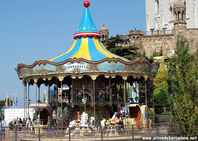 Parque e atracciones del tibidabo sitios de barcelona for Parques de barcelona