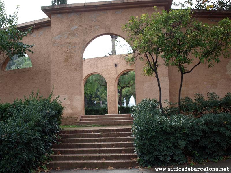 Gabriel bechini sitios de barcelona for Jardines laribal