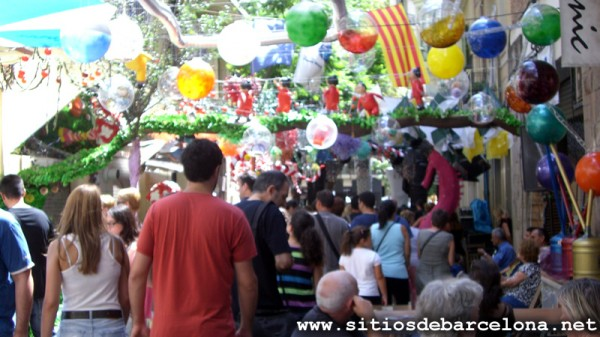 Las fiestas de Gràcia 2014