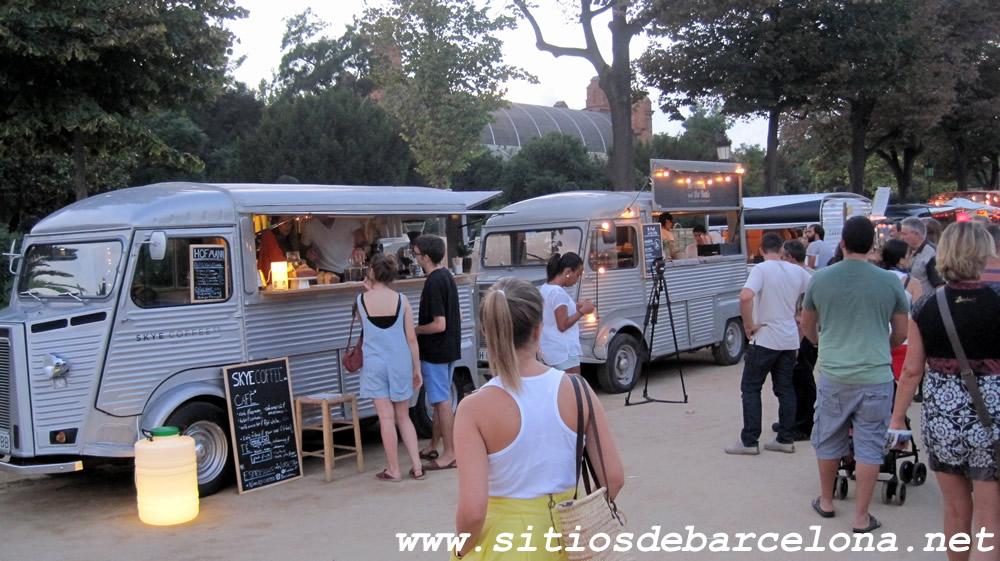 barcelona food truck