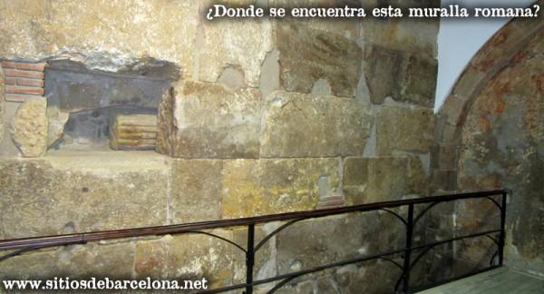 Muralla-romana-Barcelona