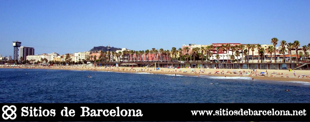 Panoramica de la Playa Barceloneta