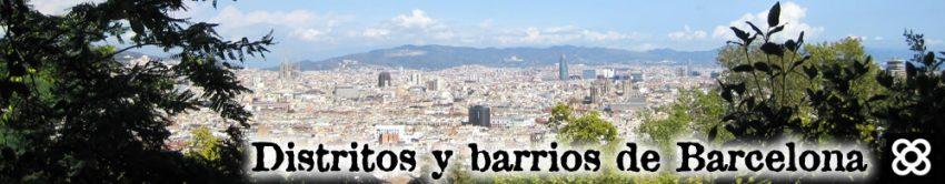 Distritos y barrios de Barcelona